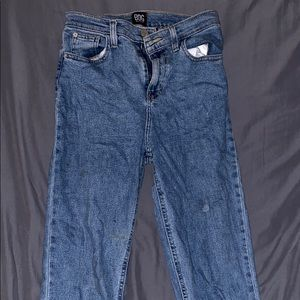Urban Outfitters high rise girlfriend jeans